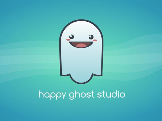 HappyGhostStudioLogo
